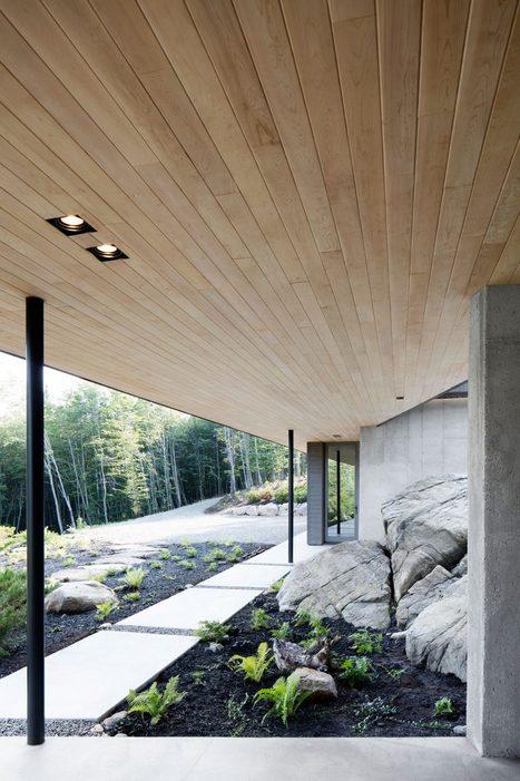 Chef-d'œuvre d'architecture LEED dans les Laurentides - Joli Joli Design | architecture..., Maisons bois & bioclimatiques | Scoop.it