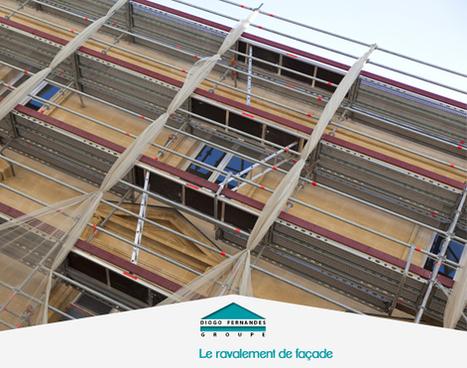 Le ravalement de façade d'une maison | Les actualités du Groupe Diogo Fernandes | Scoop.it