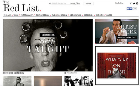 The Red List Lets You Study the Work of the Greatest Photographers | xposing world of Photography & Design | Scoop.it