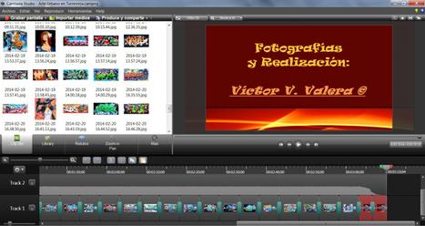 Probando un editor de vídeos para mis fotografías de graffitis: Camtasia Studio | El Content Curator Semanal | Scoop.it
