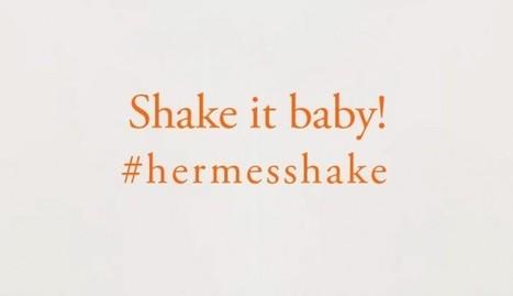 #Hermesshake, Hermès vous salue avec sa dernière pub. | #Graphisme #Webdesign #Communication #Publicité | Scoop.it