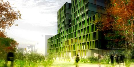 Biofaçades, un test grandeur nature à Saint-Nazaire - Urban attitude   Urbanisme   Scoop.it