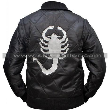 Scorpion Drive Ryan Gosling Black Jacket   Sky-Seller : Men Leather Jackets   Scoop.it