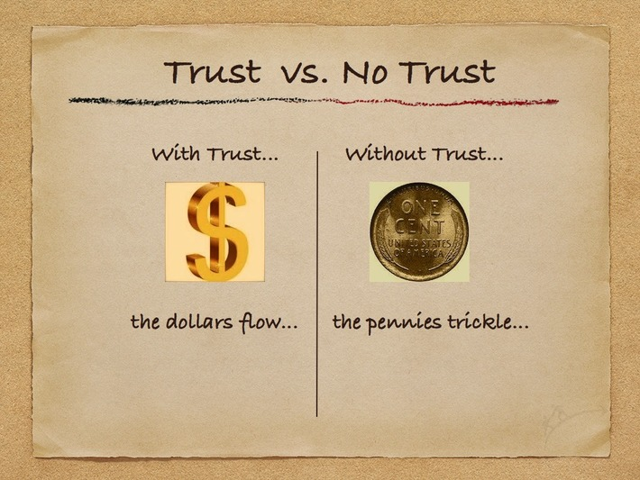 When There Is Trust…The DollarsFlow | Coaching Leaders | Scoop.it