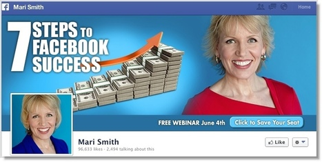 5 Great Examples of How to Include Calls to Action in Your Facebook Cover Photo | Jeffbullas's Blog | Links sobre Marketing, SEO y Social Media | Scoop.it