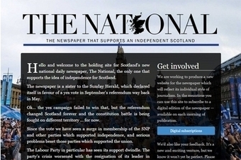 Unveiled: The National, Scotland's only pro-indy daily | My Scotland | Scoop.it