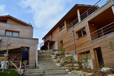 Habiterre, un habitat groupé dans le Diois | Blog – Écoquartiers et nouvelles formes d'urbanisme | Eco-Lieux, Habitat partagé | Scoop.it