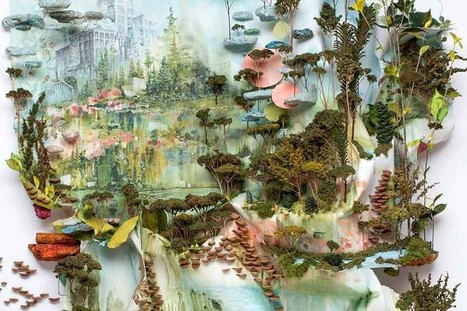 Human Intervention in the Natural Landscapes: Gregory Euclide Extracts New Meanings at Hashimoto Contemporary | Vers les hauteurs | Scoop.it