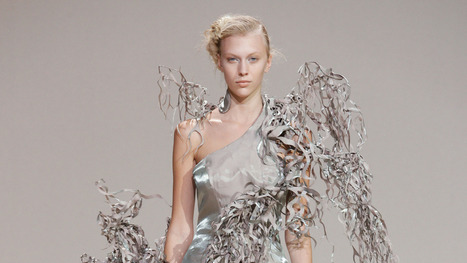 scan it, print it, wear it: the future of fashion is 3D! | Machinimania | Scoop.it