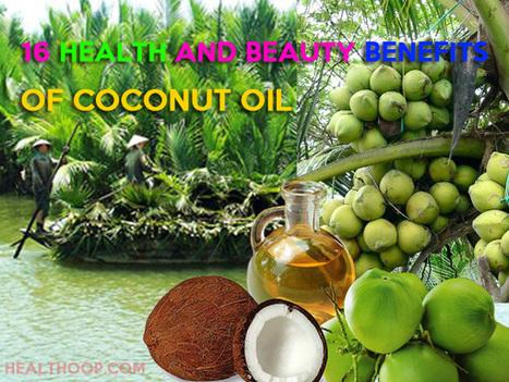 19 Health And Beauty Benefits of Coconut Oil - Healthoop | run | Scoop.it