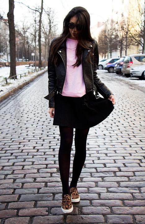 Pink, Black & Leopard   Not Your Standard Looks   Scoop.it