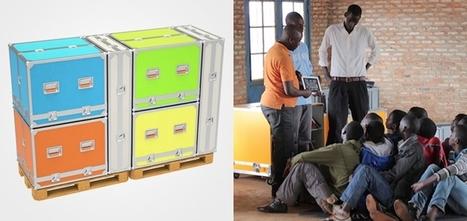 Ideas Box : des boîtes colorées pour apporter la culture aux pays défavorisés | sophie | Scoop.it
