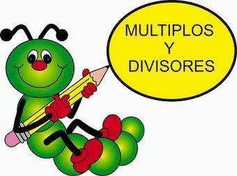 matemáticas (6º). tema 4. múltiplos y divisores. - acticarmo - Blogger | Matemáticas de 6º de primaria | Scoop.it
