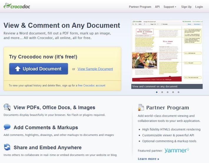 Crocdoc – Collaborative Document Editing | Mark Brumley | Educatief Internet - Gespot op 't Web | Scoop.it