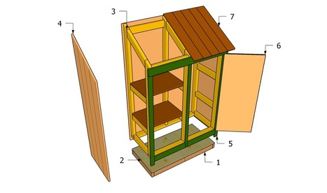 Garden Tool Shed Plans | Free Garden Plans - How to build garden projects | Deck Projects | Scoop.it
