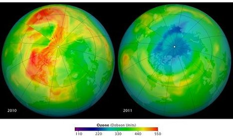 On Our Radar: Gaping Hole in Arctic Ozone   Earth and Enviormental Science   Scoop.it