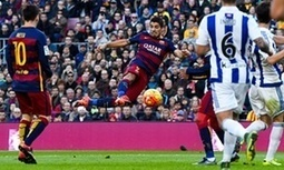 Barcelona sweep aside Real Sociedad through Neymar, Suárez and Messi - The Guardian   AC Affairs   Scoop.it