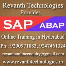 SAP ABAP online training, SAP ABAP online training from Hyderabad   Online Training from Hyderabad   Scoop.it