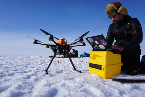 In the Empty Arctic, How to Get the Job Done?  With A Drone.  | All about water, the oceans, environmental issues | Scoop.it