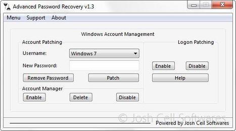 Advanced Password Recovery, gérer et récupérer les mots de passe sur Windows   Le Top des Applications Web et Logiciels Gratuits   Scoop.it