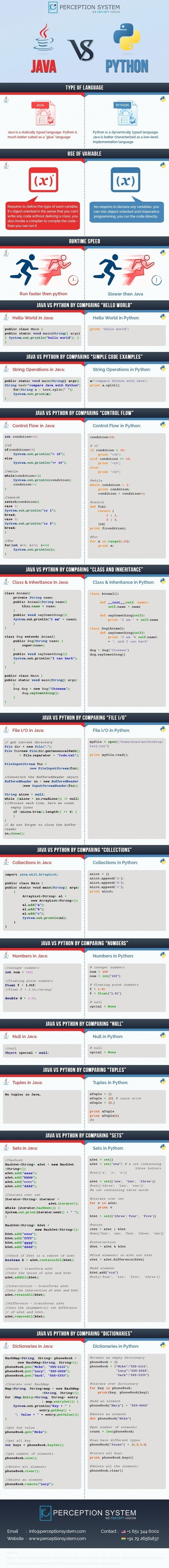 Java vs Python - Which Programming Language Should Learn First | Bazaar | Scoop.it