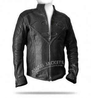 Clark Kent Smallville Black Leather Jacket | clark kent  smallville red leather shield jacket clothes worn smallville | Scoop.it