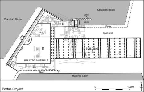 Plan of excavation area (2008 - 2014) | Portus Museum 2014 | Scoop.it