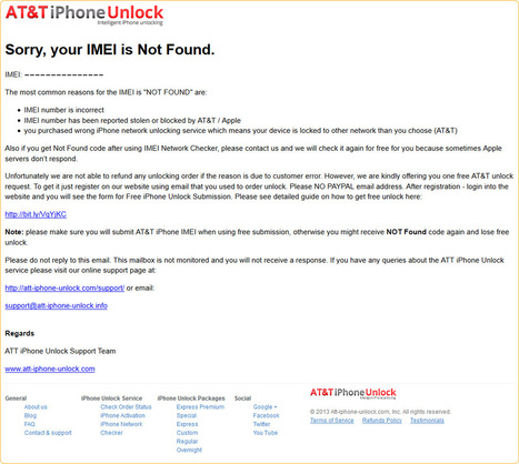 If iPhone Unlock Code Is Not Found | How to unlock iPhone | Scoop.it