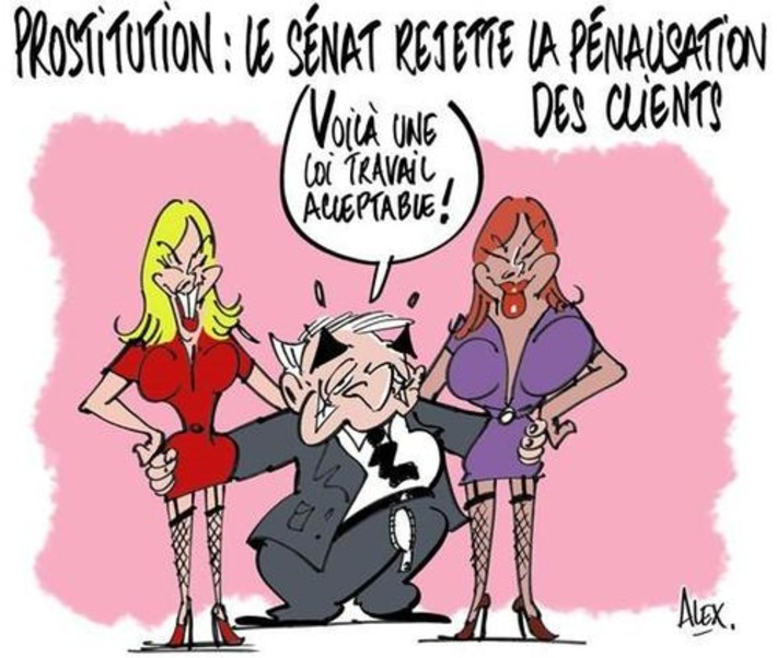 Le sénat rejette la pénalisation des clients de la prostitution | Baie d'humour | Scoop.it