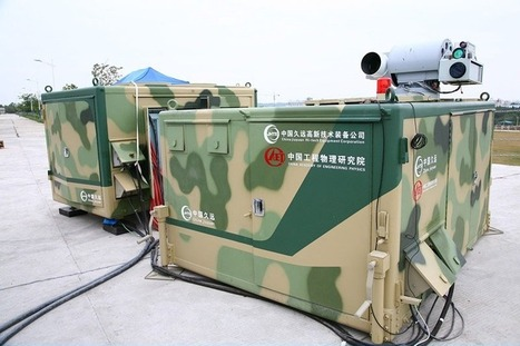 China's New Laser for Small Drones | Technosphere | Scoop.it