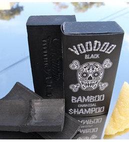Voodoo Black Bamboo Charcoal Natural Shampoo Soap Bar Tasmanian Made   Beauty and the Bees Tasmania   Scoop.it