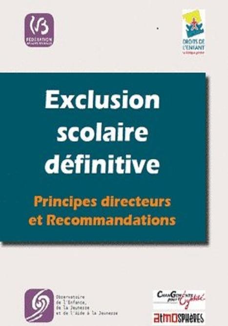 Recommandations aux écoles et aux politiques | Pleins feux sur l'exclusion scolaire ! | Scoop.it