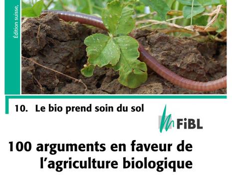 Brochure FIBL Suisse : les sols organiques en agri bio ont une meilleure structure | Chimie verte et agroécologie | Scoop.it