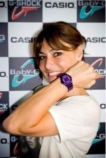 [Une montre, une star] Shirley Bousquet porte une Baby-G   Les montres de stars   Scoop.it