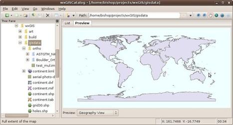wxGIS: ArcCatalog e ArcToolBox Open Source   geoinformação   Scoop.it
