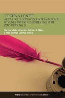 Disponible la web de las Actas del JISO 2012   Literatura Española de los Siglos de Oro   Scoop.it
