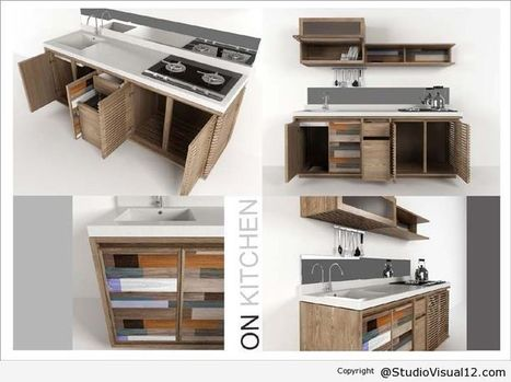 On Kitchen Pemenang 1 Furniture Design Competition | Interior Design and Furniture | Scoop.it