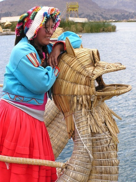 """The Floating Islands of Lake Titicaca 