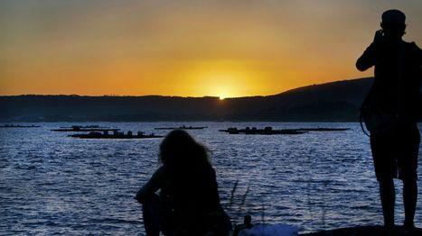 Arousa, donde las puestas de sol son arte | Galicia | Scoop.it