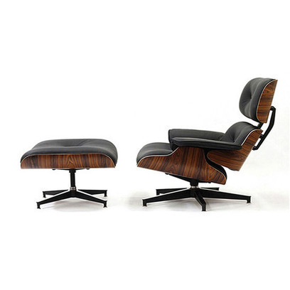 Eames Lounge Chair knockoff | Black Barcelona Chair | Scoop.it