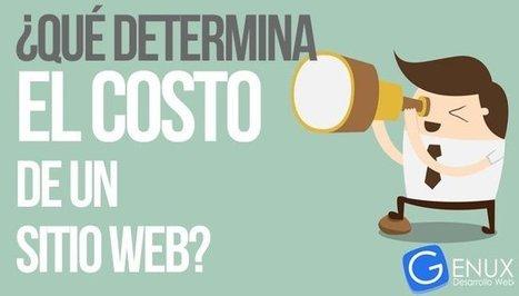¿Qué determina el costo de un sitio web?   Desarrollo y Diseño web   Scoop.it