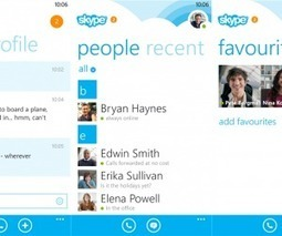 Skype for Windows Phone 8 gets a people list filter and new homescreen layout | Microsoft | Scoop.it