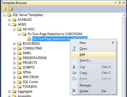 Deeper into the SQL Server Management Studio Template Explorer - SQL Server Pro | SQL Server | Scoop.it