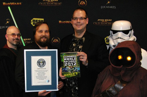 SWTOR Is Awarded the Largest Entertainment Voice Over Project Ever - MMORPG News - MMOsite.com | Animation News | Scoop.it