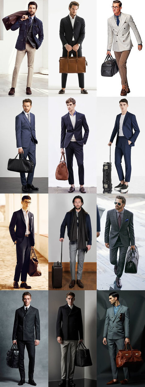 A Guide To Dressing For Business Travel - FashionBeans | frequent fliers | Scoop.it