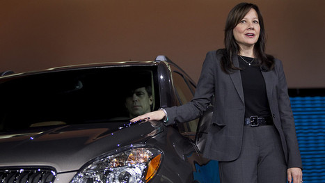 GM Chooses Barra as First Female CEO of Global Automaker | EconMatters | Scoop.it