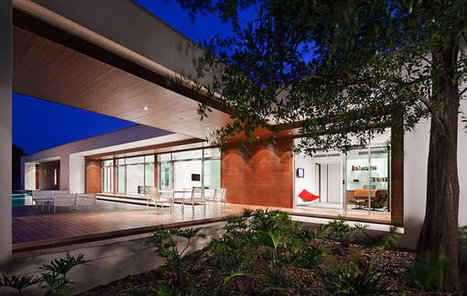 A Florida House Set for Two Comfort Zones | sustainable architecture | Scoop.it