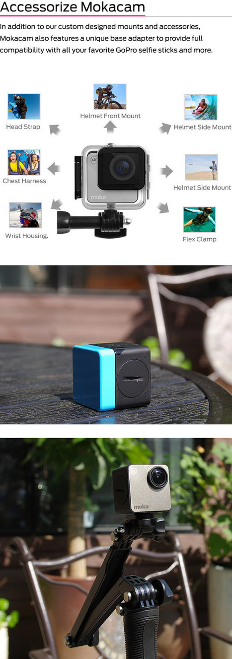 CLICK HERE to support The World's Smallest 4K Camera - Mokacam | Heron | Scoop.it