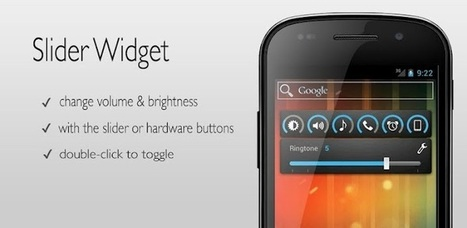 Slider Widget - Volume - Applications Android sur Google Play | Android Apps | Scoop.it