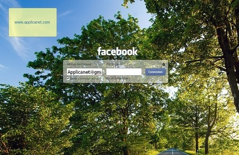 Comment changer l'image de fond de la page de connexion sur Facebook? ~ Applications du Net   Dj Diégo   Scoop.it